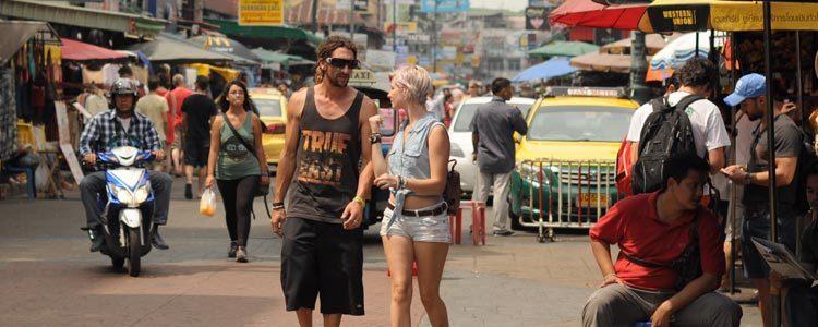 Улица Каосан в Бангкоке
