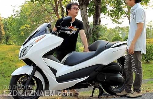 Скутер Хонда Форза в Тайланде
