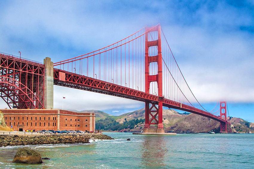 мост Золотые Ворота - устоявшийся символ Сан-Франциско