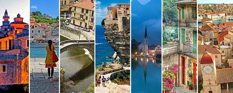 Красивые города Европы, о которых почти не знают туристы