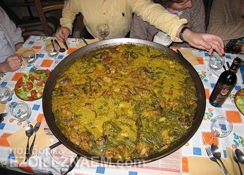 Мифы о еде в Испании: паэлья