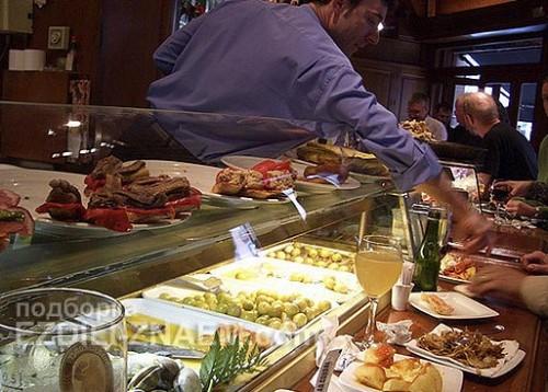 Мифы о еде в Испании: тапасы