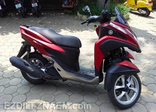 "Таиланд. Отзыв об аренде скутера - трицикла Ямаха ""TriCity"""