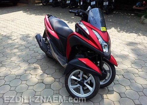 "Отзыв об аренде скутера - трицикла Ямаха ""TriCity"" в Таиланде"