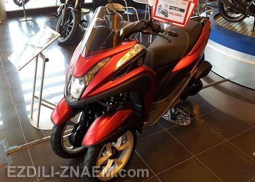 """Отзыв об аренде мотобайка - трицикла Ямаха """"TriCity"""" в Таиланде"""