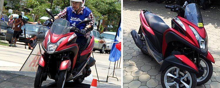 "Скутер - трицикл Yamaha ""TriCity"" в Тайланде: отзыв и фото"