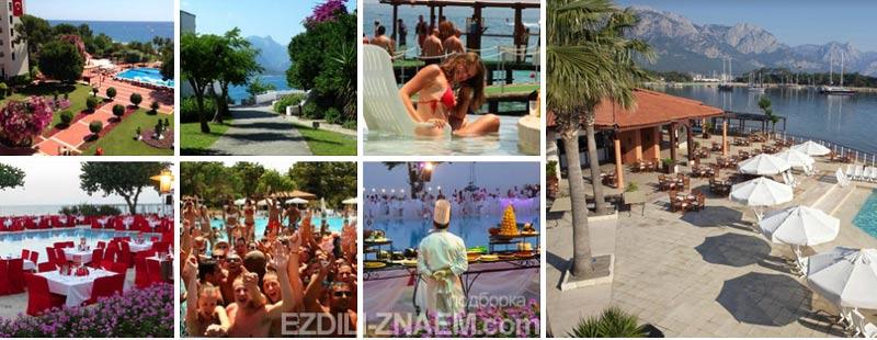 Лучшие отели Турции. Отель Club Med в Кемере