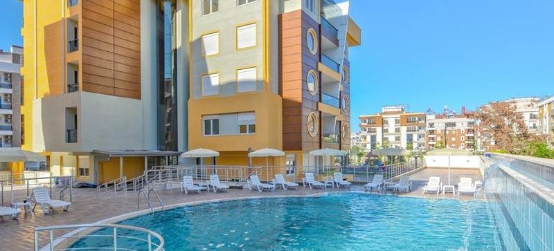 """Отель """"Flamingo Residence"""" в Анталье, Турция"""