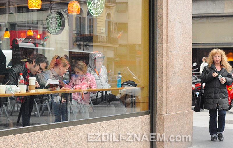 Кофейни - лучшие места для всех путешественников. На фото: Мадрид, Испания