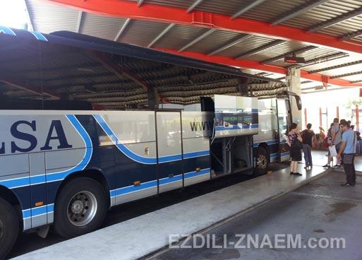 """Автобус """"Альса"""" в Испании"""