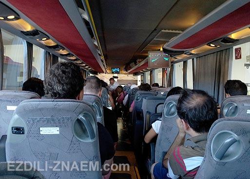 На автобусе по Испании
