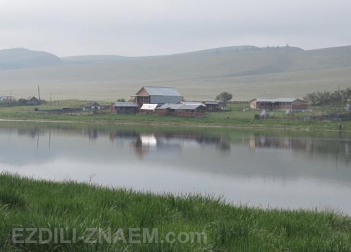 Озеро Иткуль в Хакассии