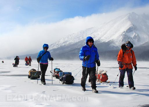 Байкал зимой. Активные туры