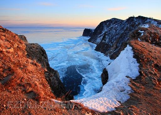 Красота зимнего Байкала