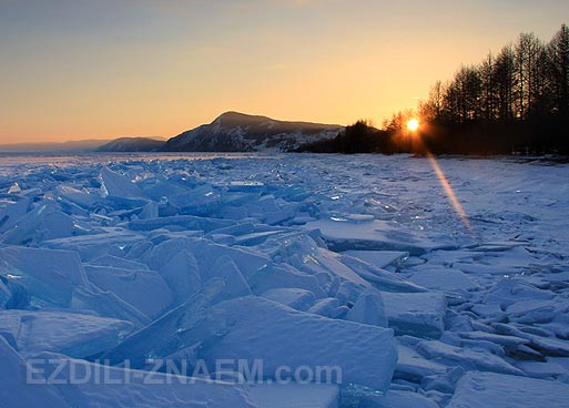 Активные туры по зимнему Байкалу