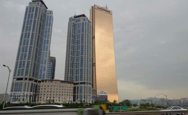 Башня 63 - одна из достопримечательностей Сеула. Южная Корея
