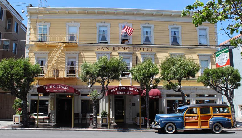 """Отель """"Сан-Ремо"""" в Сан-Франциско"""