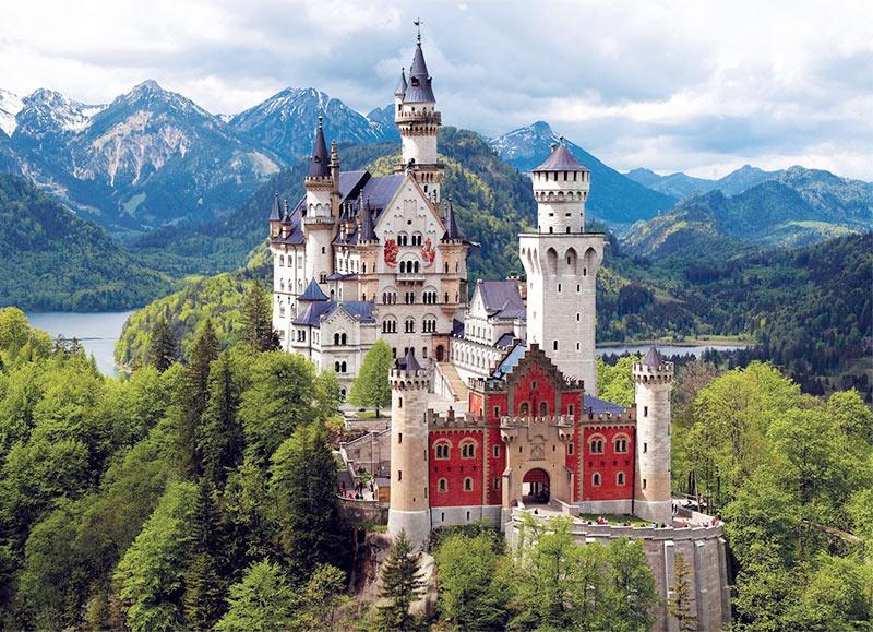 Замок Нойшванштайн, Бавария
