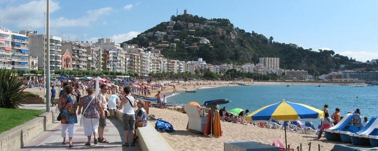 Курорт Бланес в Испании