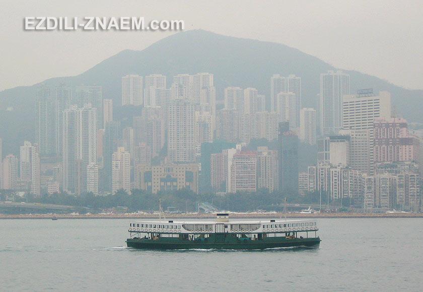 Паром Star Ferry в Гонконге