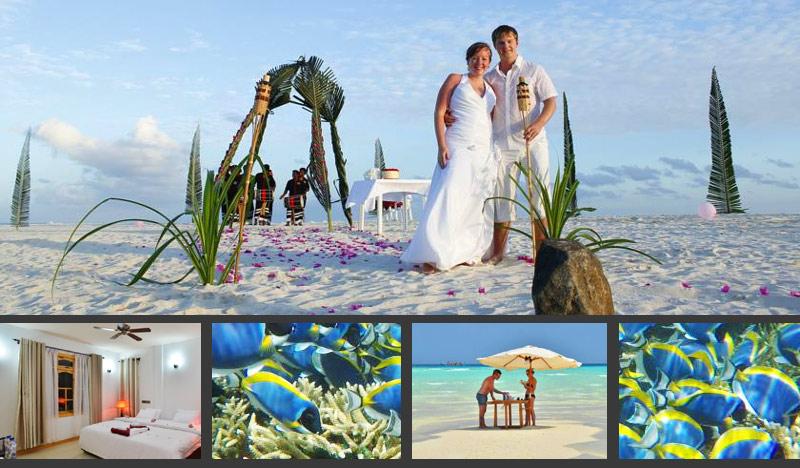 Недорогой отель на Мальдивах для романтичного отдыха вдвоем