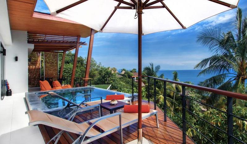 Вилла Villas Del Sol Koh Tao на острове Ко Тао,Тайланд