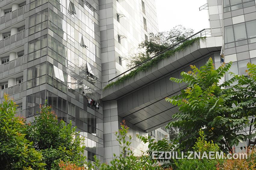 современная архитектура жилого комплекса в Кеппель Бэй