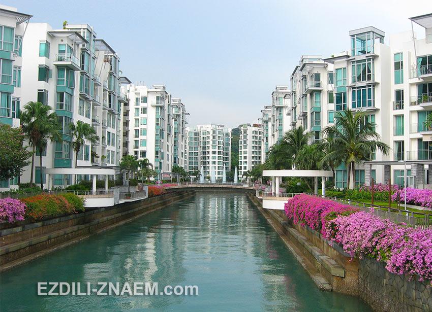 кондо Caribean в Кеппель Бэй. Сингапур