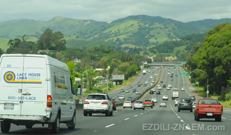 Вождение авто в США