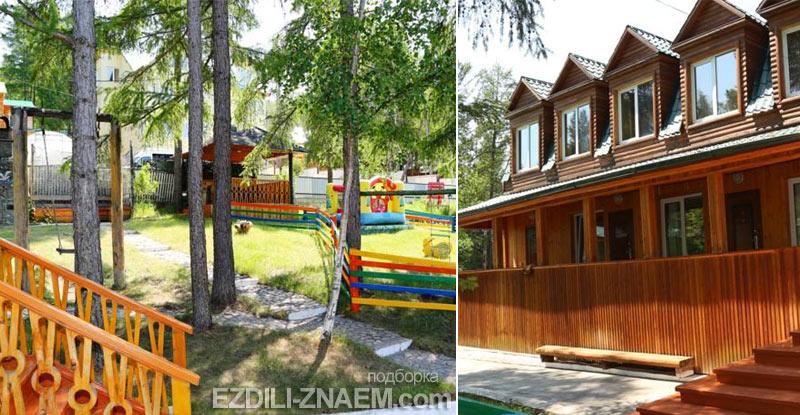 Отель на озере Байкал