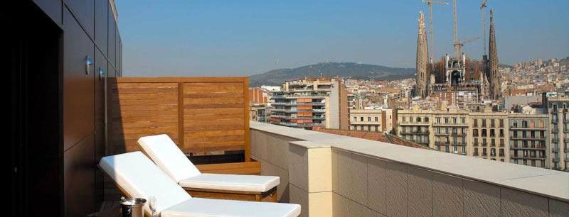 "Отель ""Eurostars Monumental"" в Барселоне"