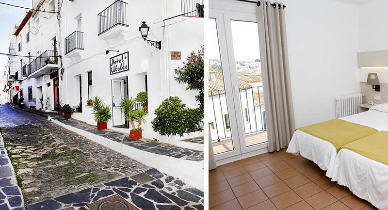 """Отель """"Ubaldo"""" в Кадакесе, Испания"""