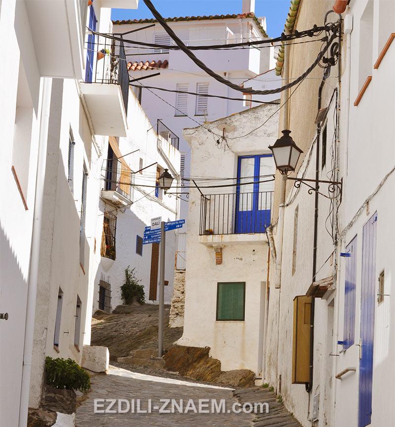 улочки старого Кадакеса