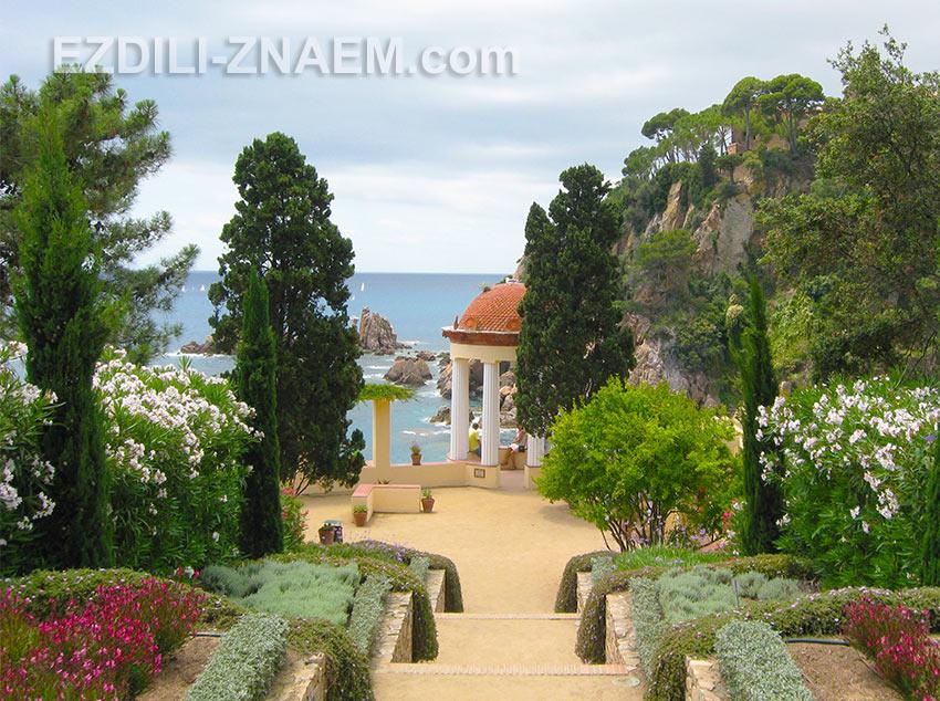 Сад Маримуртра (MariMurtra) в Испании, Бланес