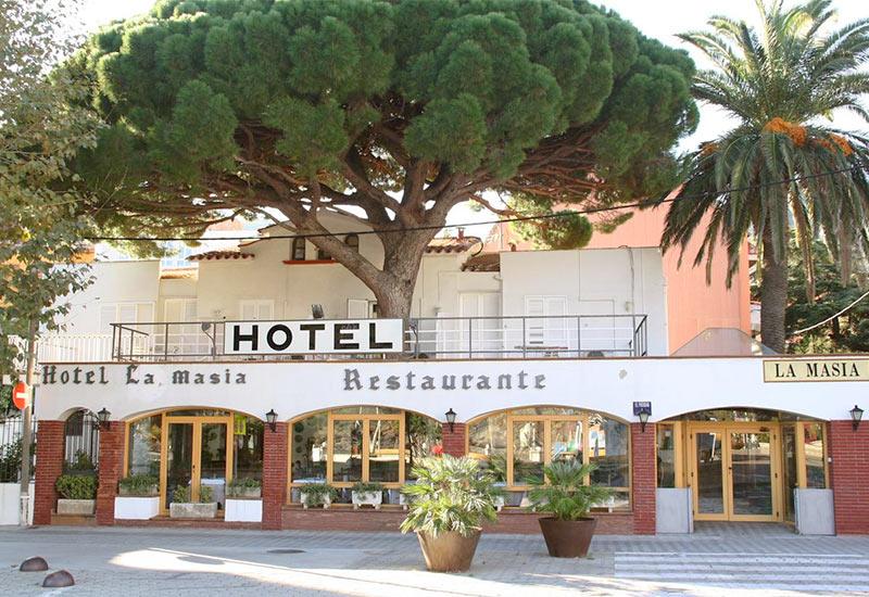 """отель """"La Masia"""" в Портбоу"""