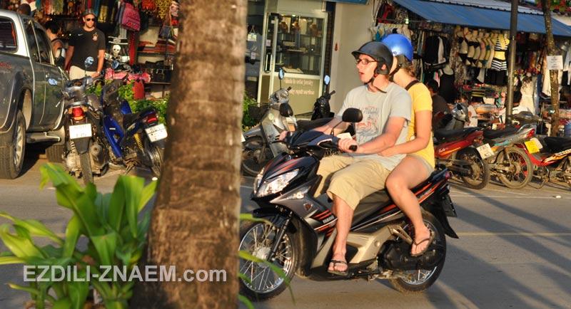 Аренда мотобайка в Краби