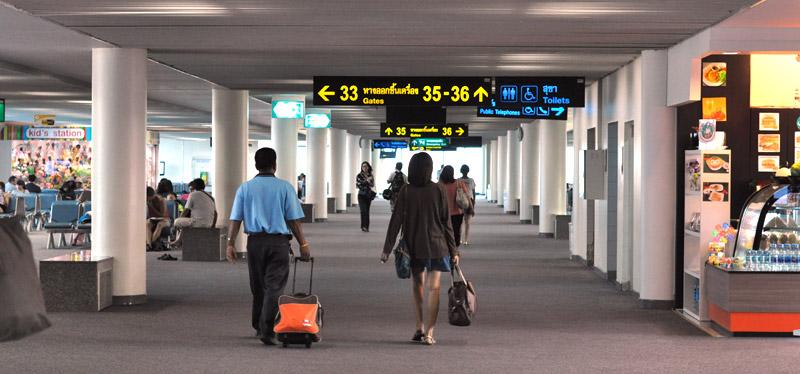 Аэропорт Дон Муанг (Don Muang), Бангкок, Таиланд