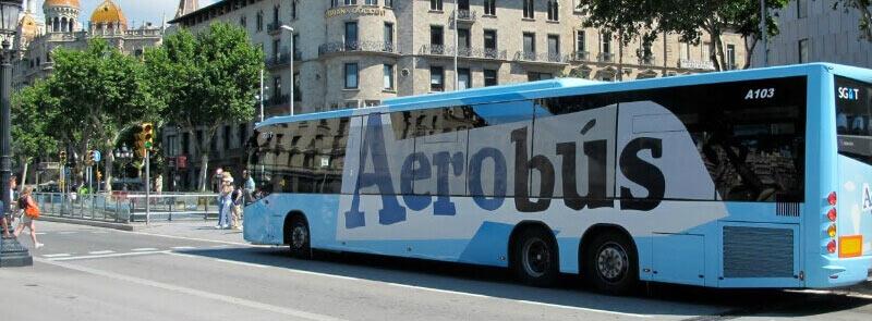Автобус из аэропорта в Барселону