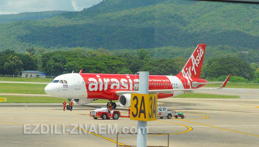 цены на авиаперелеты AirAsia в Таиланде сильно зависят от распродаж