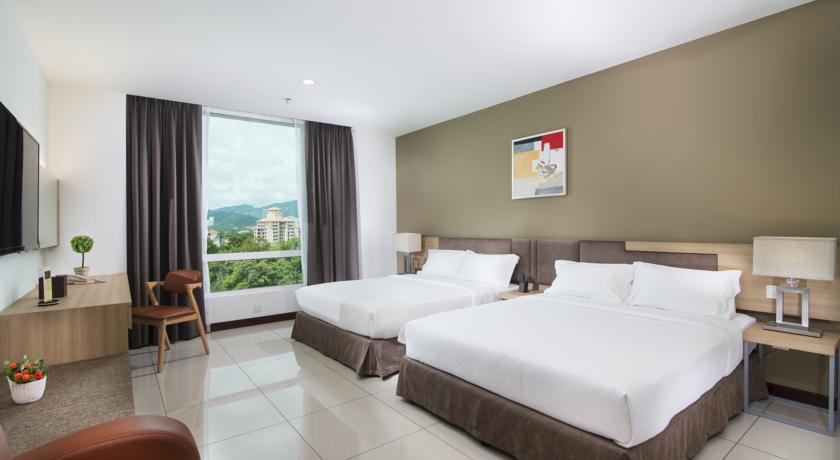 Недорогой отель на Пенанге