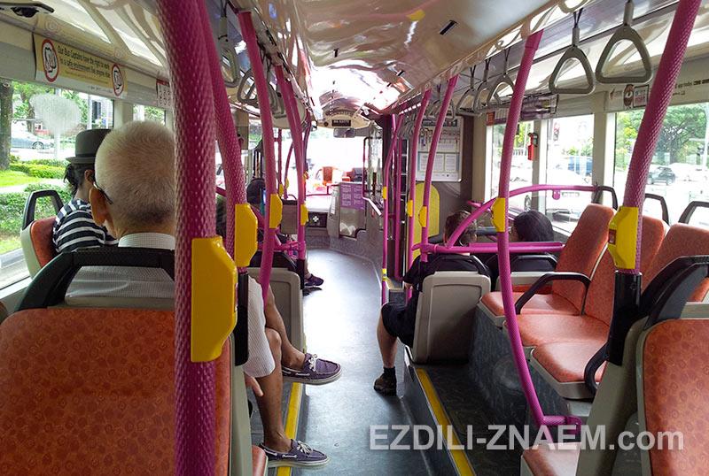 осваиваем Сингапур на автобусах
