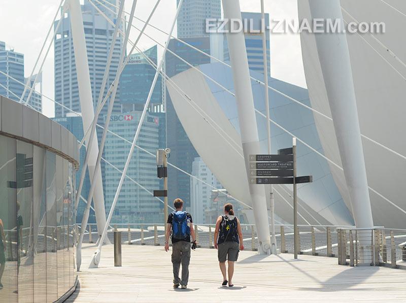 Экскурсия по центру Сингапура