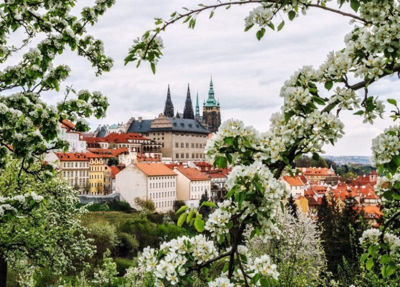 Самостоятельно в Прагу весной