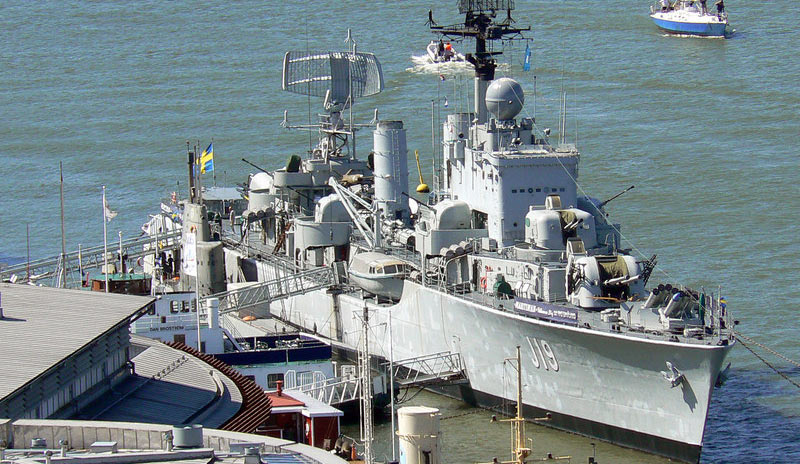 """Корабль музей, эсминец """"Смаланд"""""""