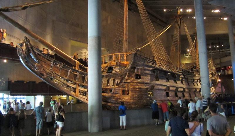 """Линейный корабль """"Vasa"""". Стокгольм. Швеция"""