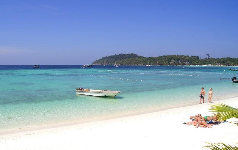 Пляж Паттайя на Ко-Липе в Таиланде
