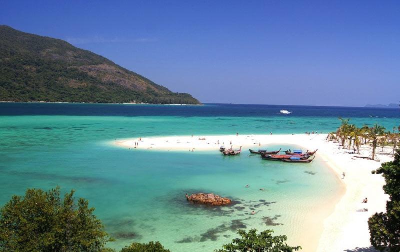 Пляж Сансет на Ко-Липе