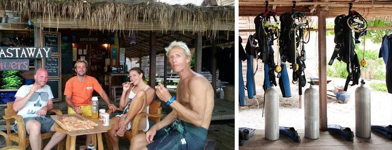 Отели для дайверов на острове Липе