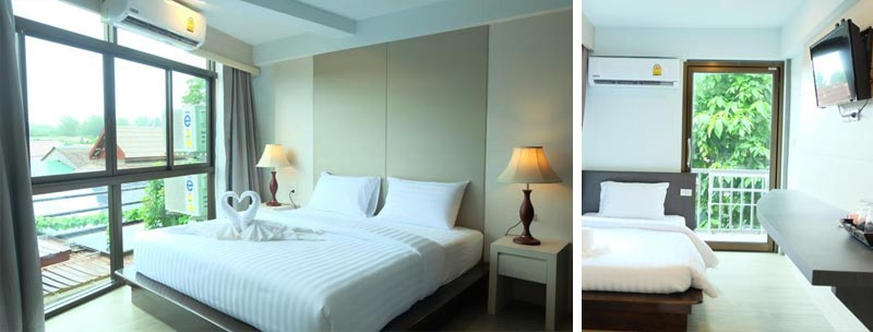 """Отель """"A Plus Deluxe Hotel"""" в районе Walking Street, Ко Липе"""