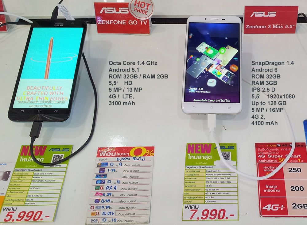 Asus Zenfone3 - недорогие и сбалансированные смартфон